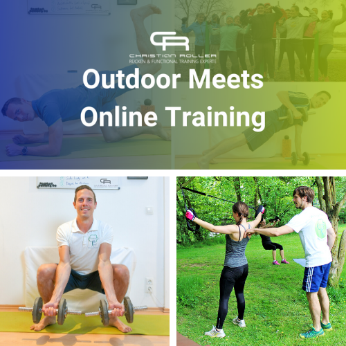 Outdoor meets Online Training