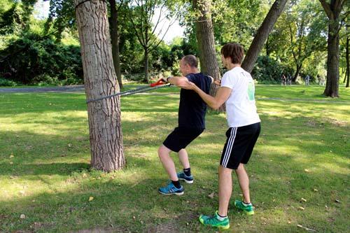 Outdoor Zirkeltraining mit individueller Betreuung