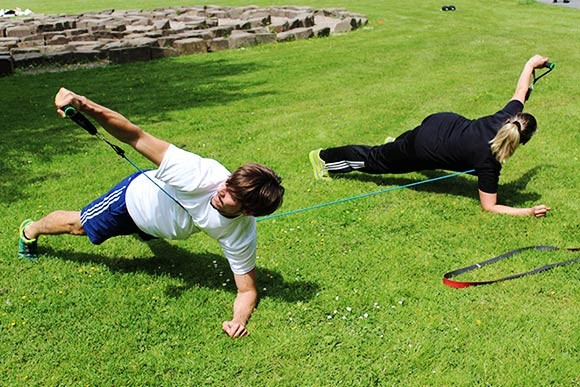 Outdoor Zirkeltraining Rückencamp Troisdorf Burg Wissem