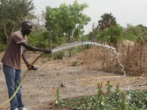 Helfen in Südsudan