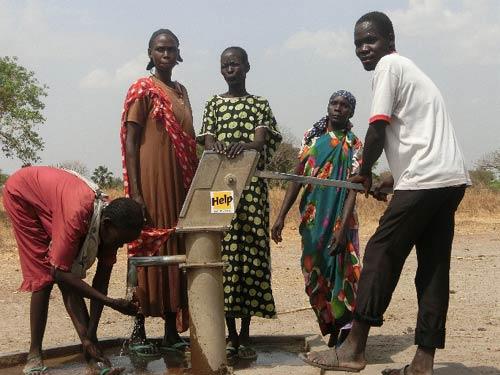 Helfen für die Wasserversorgung