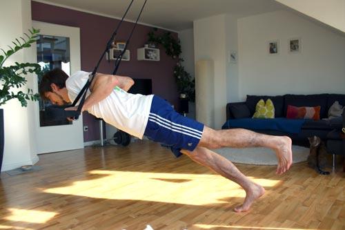 Sling Trainer Übungen Liegestütze