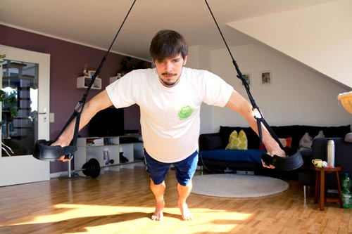 Sling Trainer Übungen mit AeroSling