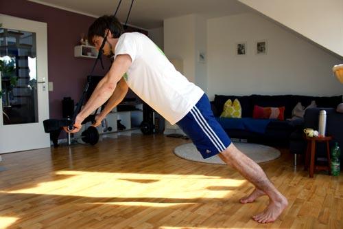 Sling Trainer Übungen Liegestuetze