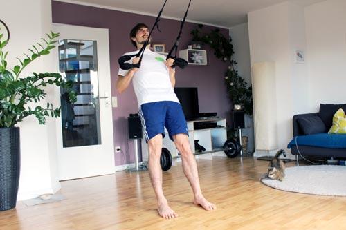 Sling Trainer Übungen Rudern