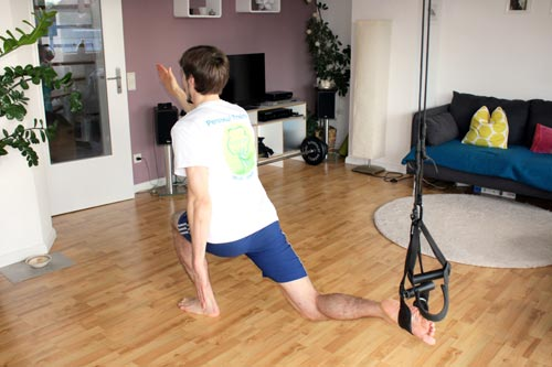 Sling Trainer Übungen - Sprinter Endposition
