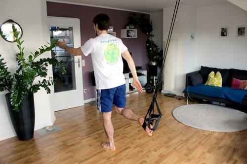 Sling Trainer Übungen - der Sprinter