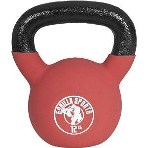 Kettlebell Swing mit Red Rubber Kettlebell