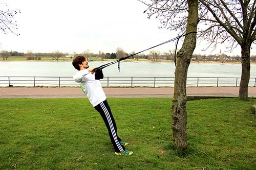 Sling Training - Weites Rudern