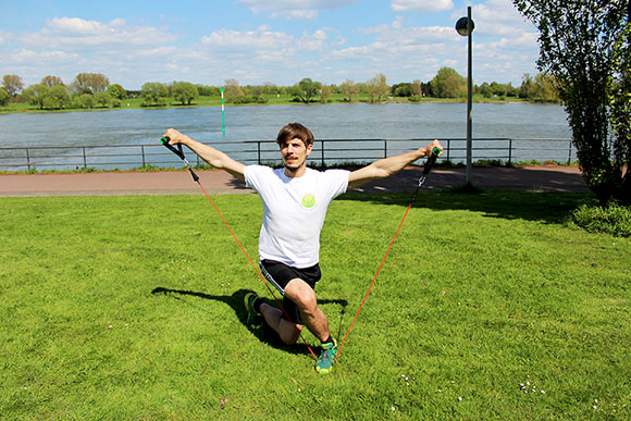 Resistance Band – Fitness Tube Workout mit 7 brillianten Übungen