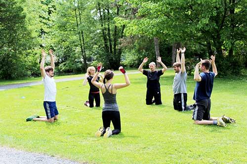 Einblicke Rückencamp Gruppentraining Köln, Bonn, Rhein Sieg Kreis