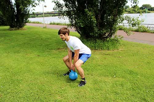 Kettlebell Workout - Kreuzheben