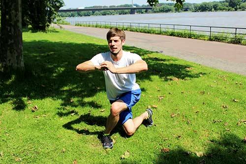 Bodyweight Übungen - Kreuzsprünge