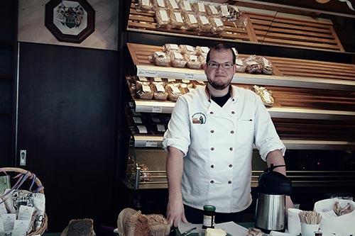 Gesundes Brot bei Eric Onder de Linden