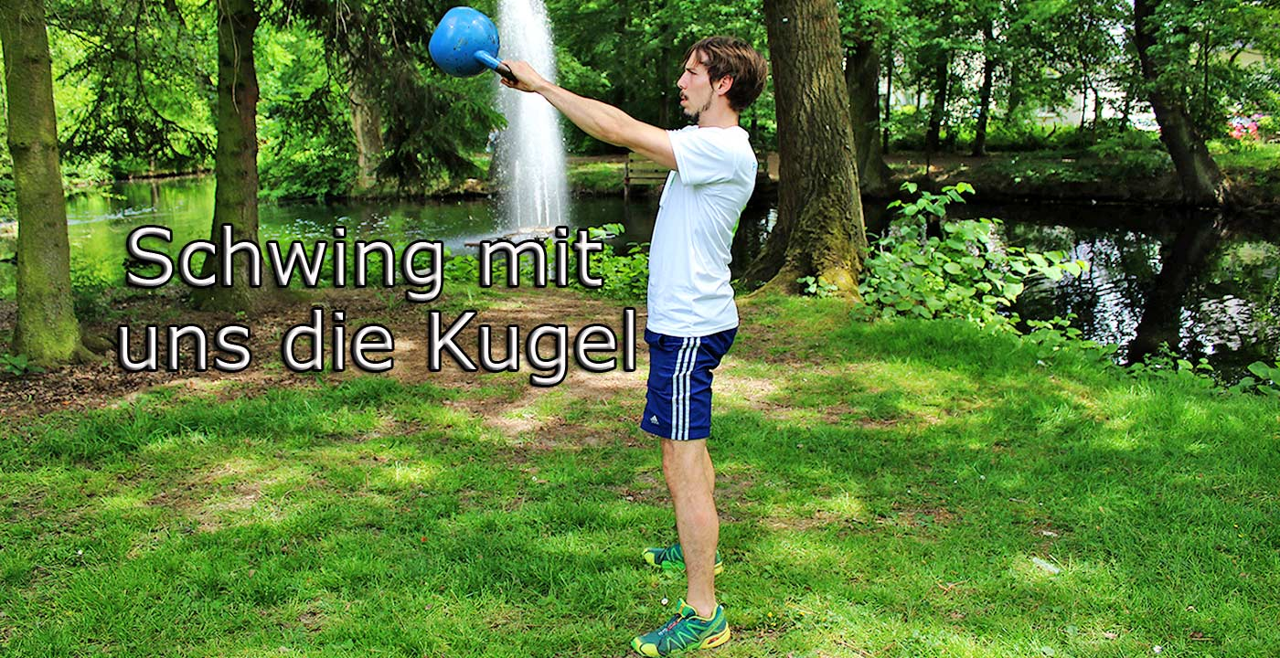 Kettlebell Training in der Natur