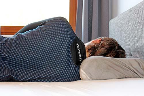 Rückenschonend schlafen - Seitenschläfer