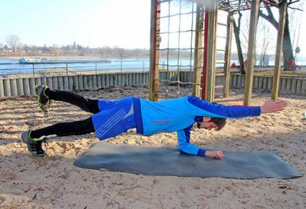 Rücken Trainingsplan - Planke-fortgeschritten