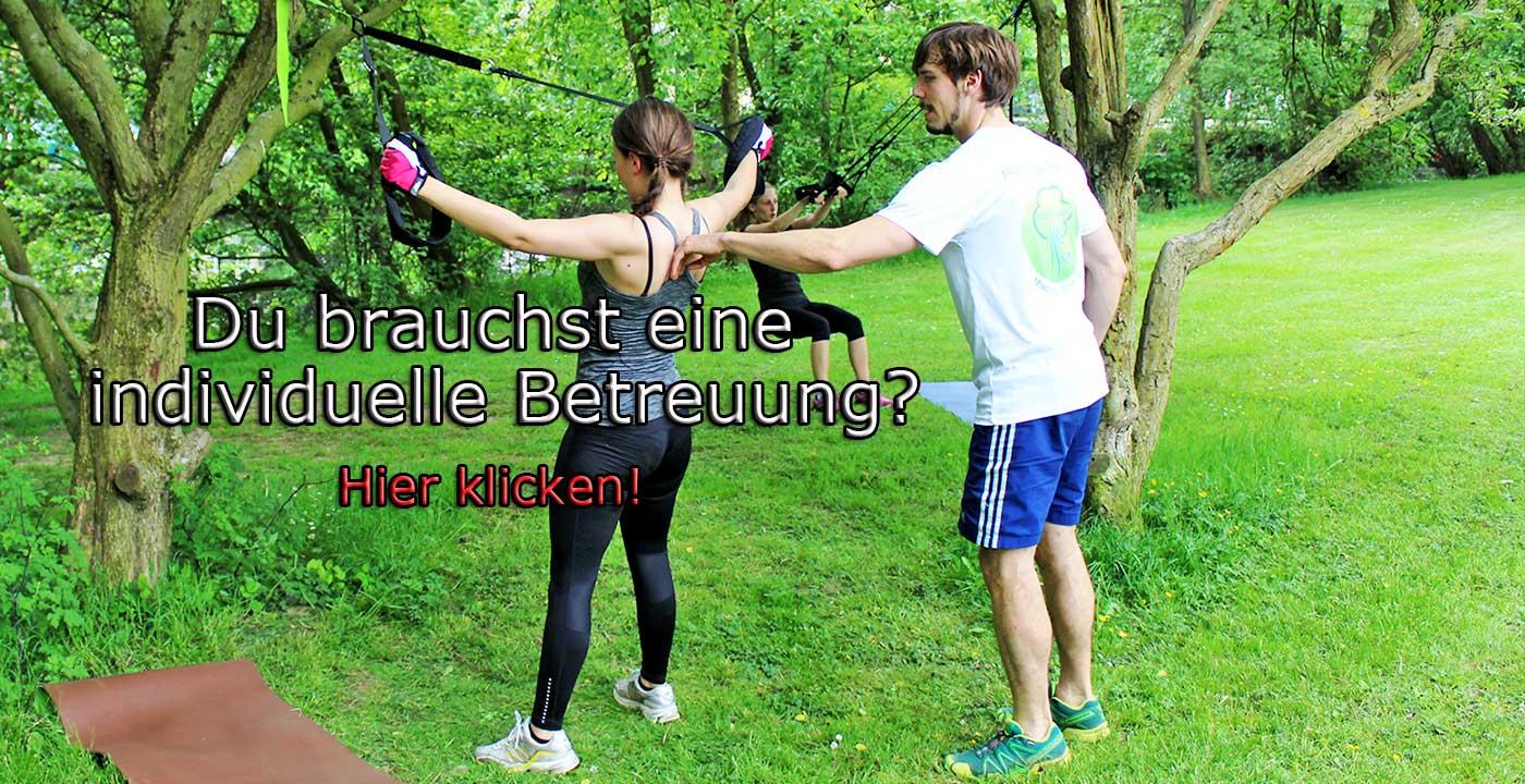 Rückencamp Outdoor Zirkeltraining - Individuelle Betreuung - Sling Training - Outdoor Functional Training Bonn, Siegburg, Troisdorf, Lohmar, Sankt Augustin, Bad Honnef