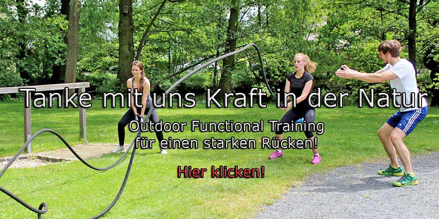 Outdoor Training für alle, die einen starken Rücken ohne Fitnessstudio wollen