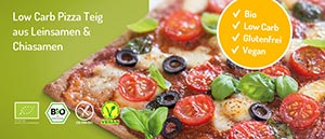 Lizza Low Carb Pizza Teig