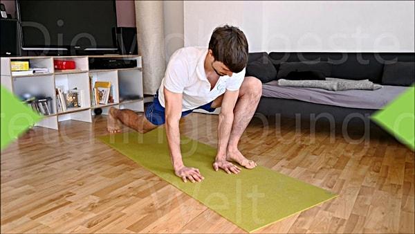 Die beste Stretching Übung der Welt - Dynamisches Dehnen - Mobilisation