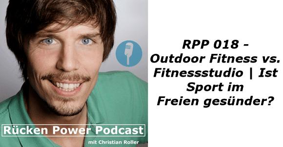 Outdoor Fitness vs. Fitnessstudio | Ist Sport im Freien gesünder?