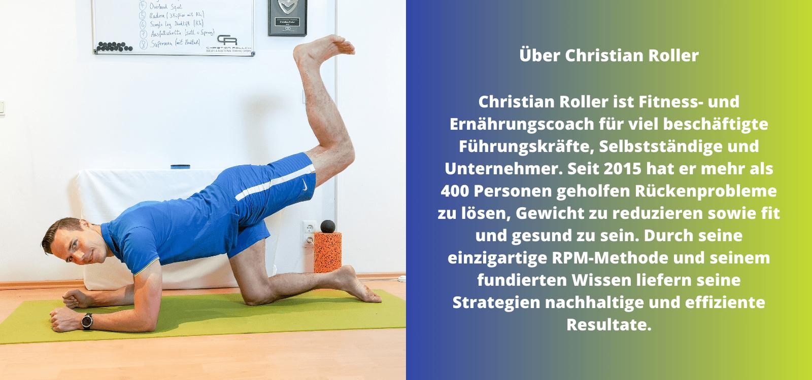 Christian Roller | Fitness- & Ernährungscoach