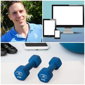 Online Fitnesstraining, Gruppentraining, Rückentraining